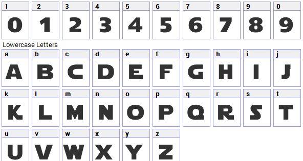 Star Wars Font - Star Wars Font Generator