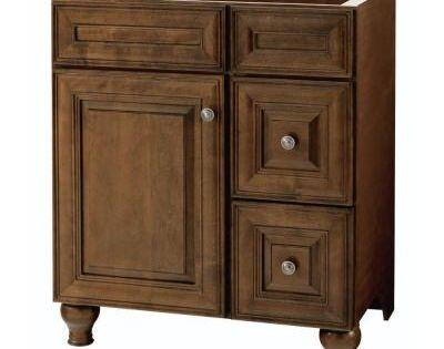 Home Decorators Collection Templin 30 In Vanity Cabinet Only In Coffee Vanities