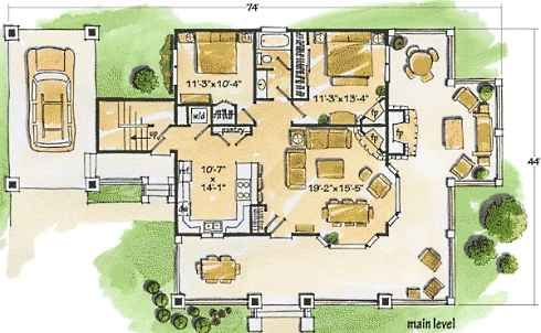 Plans For Could Be Perfect House Small Cottage House Plans Cottage Floor Plans Small Cottage Homes