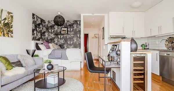 Un apartamento peque o pero muy bien aprovechado decorar for Apartamento muy pequeno
