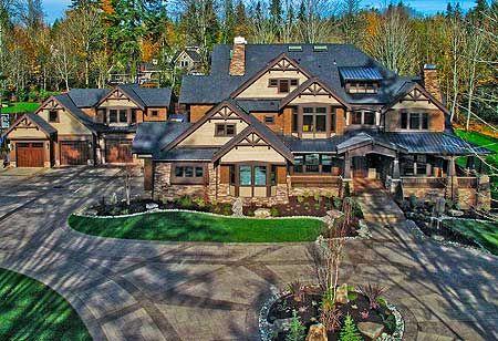 House Plan W23290JD. Dream home exterior