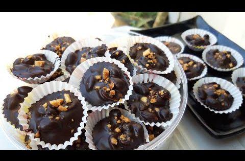 Kue Lebaran Dua Bahan Coklat Kacang No Oven No Mixer Youtube Cupcake Recipes Fudgy Chocolate Chocolate Cupcakes Moist