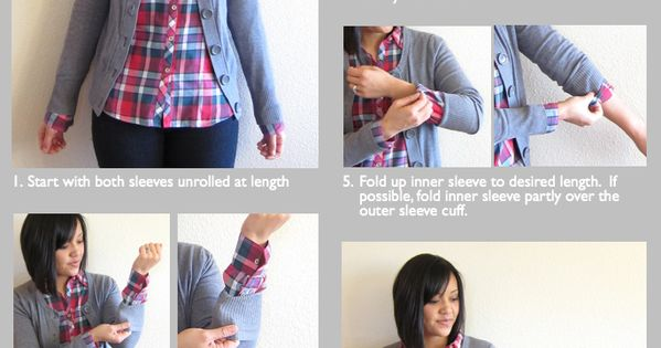 Putting Me Together: How to Roll Up Layered Sleeves
