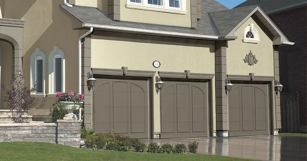 Integrate Your Garage Into Your Home 39 S Exterior Color Scheme With Paint If You Are Painting A