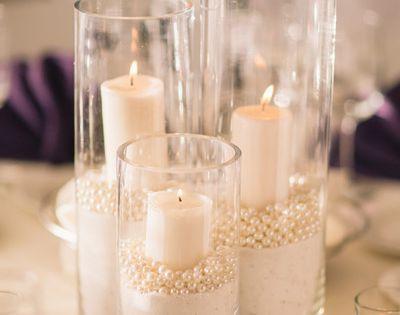 Sasha And Callum S Wedding In Aptos California Wedding Centerpieces Diy Wedding Centerpieces Candle Centerpieces