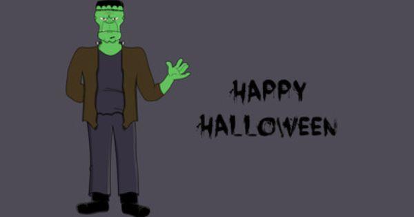 Frankenstein Happy Halloween Halloween Wallpaper Frankenstein Happy Halloween