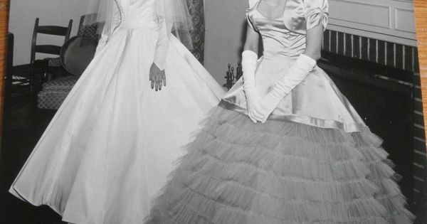 Bridal Gowns Lynchburg Va : Vintage wedding photo bride and mother s