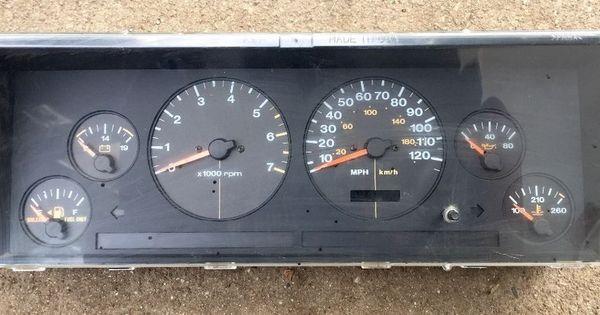 96 98 Jeep Grand Cherokee Instrument Cluster Panel Gauges