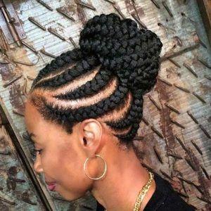 51 Best Ghana Braids Hairstyles Page 2 Of 5 Stayglam Cool Braid Hairstyles Ghana Braids Updo Hair Styles