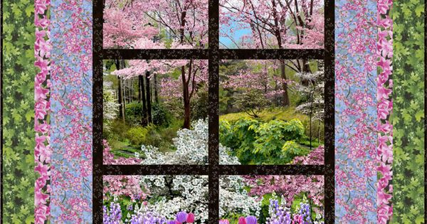 FREE PATTERN >> Outside My Window, Next Step Quilt Designs
