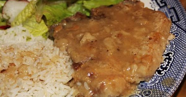 Pork chops, Country style and Gravy on Pinterest