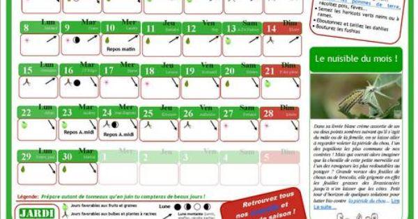 Le calendrier lunaire du jardinage le calendrier lunaire for Horaire jardinage