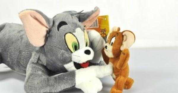 توم وجيري في المصنع الجديد كرتون أطفال Childhood Toys Doll Toys Plush Toys