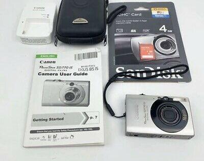 Canon Powershot Digital Elph Sd770 Is Digital Ixus 85 Is Powershot Canon Powershot Digital