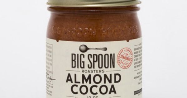 Good Food: Big Spoon Roasters Almond Cocoa Butter | Big Spoon, Cocoa ...