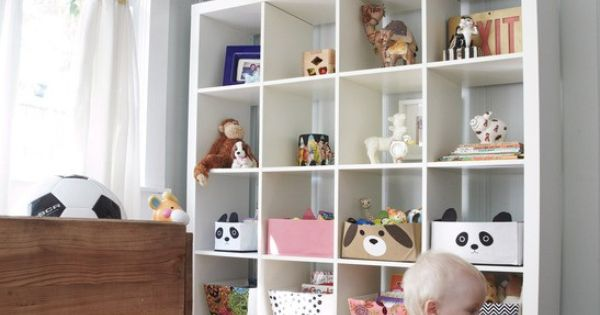 kid room storage and display