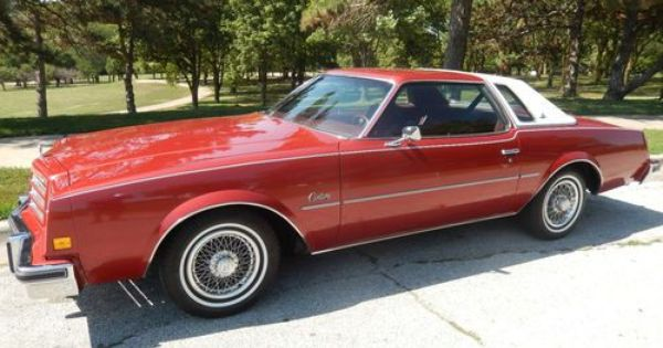 Sell Used 1976 Buick Century Regal In Omaha Nebraska United
