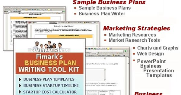 Business Plan Writing Tool Kit - Complete Business Startup Planner - business plans sample