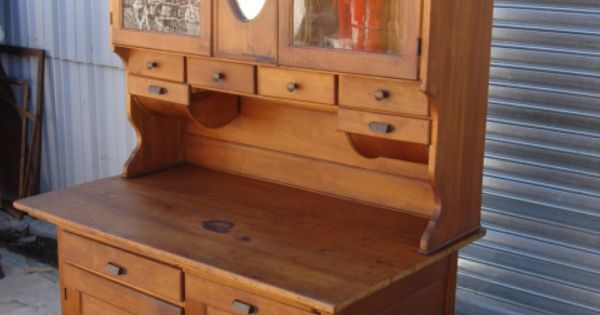 ... American Antique Hoosier Cabinet Kitchen