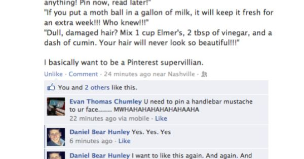 Hahahahahaha! This girl's idea is hilarious... People will believe anything they see