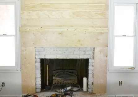 How To Build A Fireplace Surround Fireplaces My Heart And Wrought Iron