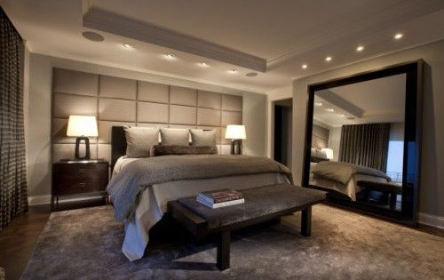 Nice Neutral Bedroom Ideas with Much Furniture Colors: Comfortable Contemporary Bedroom Design