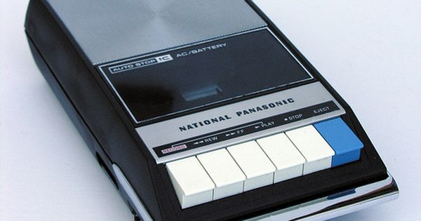 Cassette Recorder, I used to have one very similar to this in