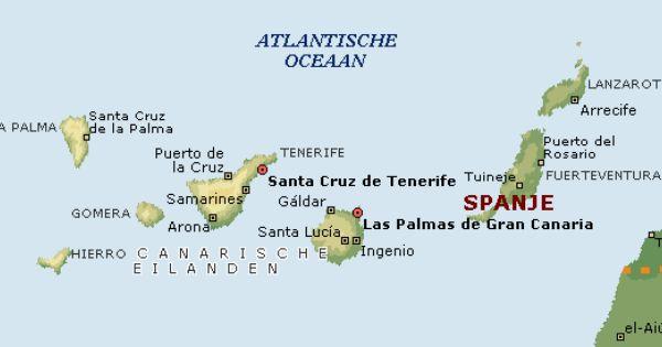 Dit Zijn Alle Eilanden Tenerife Is Een Van De Grootste Tenerife Lanzarote Islas