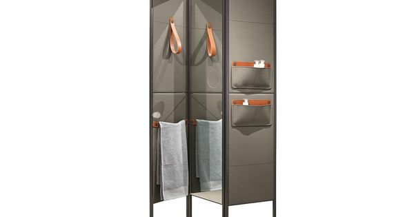 LEATHER SCREEN SHADE BY MAKRO  DESIGN MARCO TAIETTA  2-11 Screen&Partition 屏风 ...