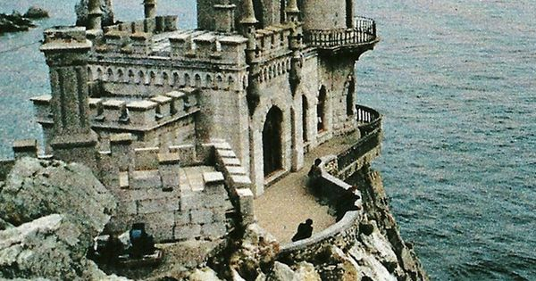 #Neogothic castle Black Sea Ukraine experience
