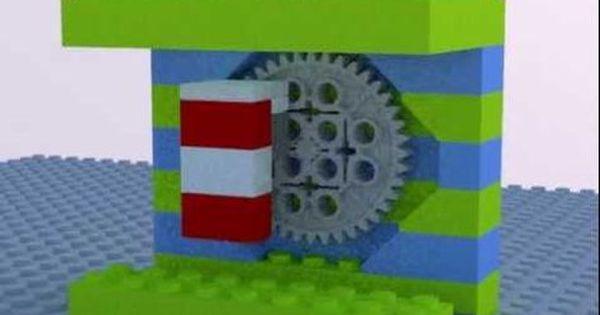 Lego Marble Pump Animation Lego Legos Animation