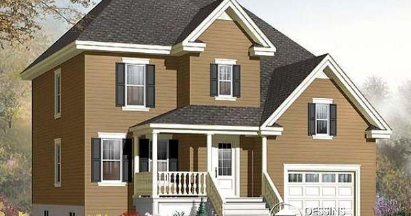 Grande maison traditionnelle id ale pour famille for Maison eplans