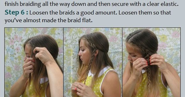 The Wrap Around Braids hairdo