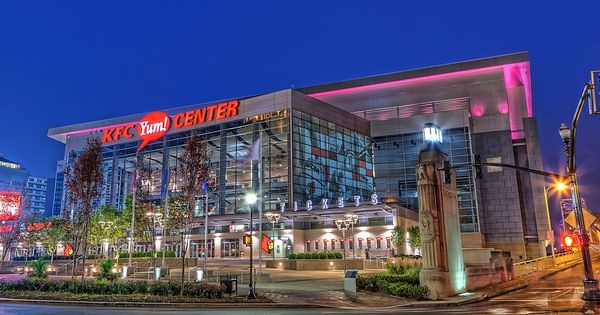 Kfc Yum Center Louisville Ky Louisville Kentucky Louisville Ky Louisville