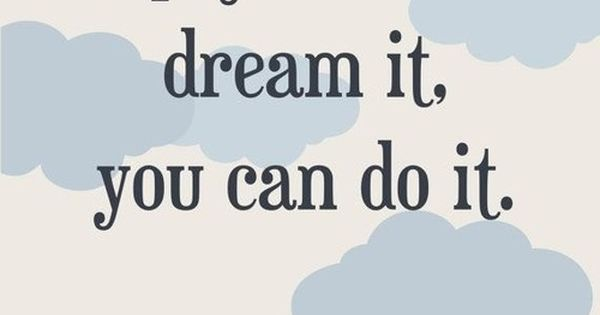 dreams and goals The secret to making your dreams come true lies in commitment  most goals  are hard to achieve -- that's why they're goals -- but why are more than 50% of us .