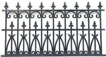 2 Or 144 Pc Victorian Wrought Iron Fence Set S Choice Of Color Iron Fence Wrought Iron Fences Fence Decor