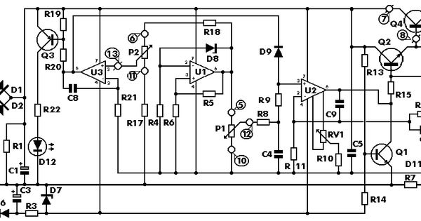 0 30 Vdc Stabilized Power Supply With Current Control 0
