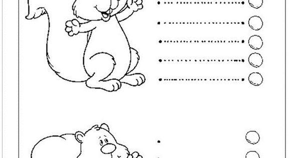 Squirrel Trace Line Worksheet