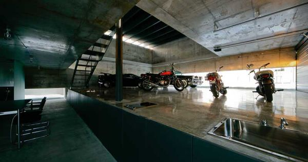 Contemporary Japanese Garage Design By Jun Igarashi