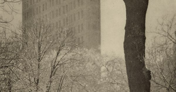 1903 ('The Flat Iron' - Alfred Stieglitz) from Madison Square Park. Visited