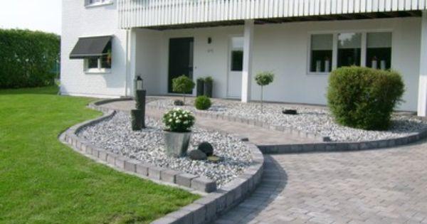 Uteplats uteplats framsida : Marksten | Outside & Gardening | Pinterest | Garden globes, Garden ...