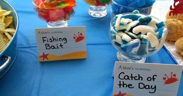 Under The Sea & First Birthday Party Ideas