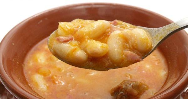 Jud as blancas con chorizo thermomix recetas para for Comparaison thermomix cooking chef