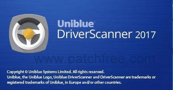 uniblue driver scanner keygen  pc