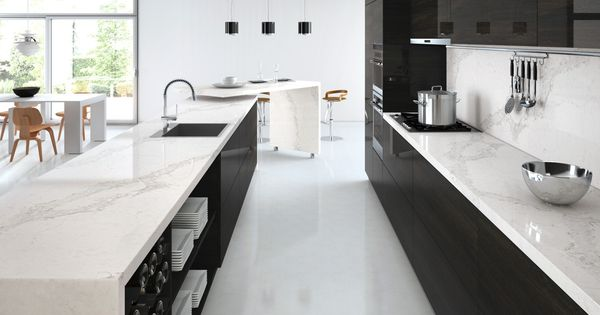 What colour cabinets would you choose for caesarstone 39 s - Cornerstone kitchens and bathrooms ...