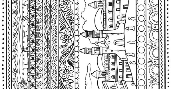 Welcome to dover publications color pages and crafts to for Mexican coloring pages for adults