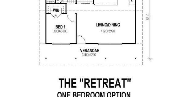 The retreat1 floor plan 500 sq ft mother in law suite for 28x32 floor plan