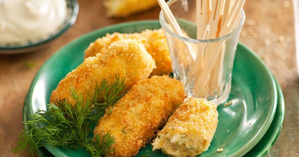 Chicken croquettes recipe better homes and gardens Yahoo better homes and gardens