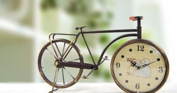 Tiny Clocks - A Tricycle In August
