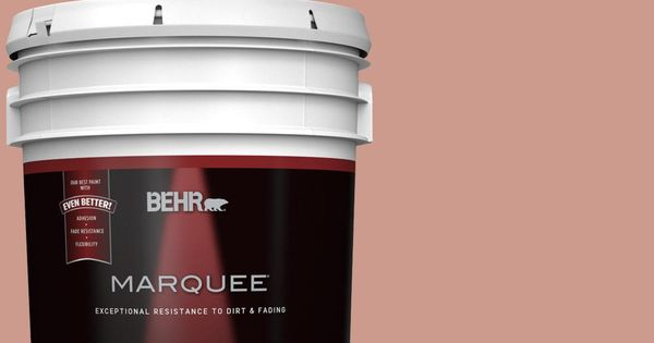 Behr Marquee 5 Gal 210f 5 Artifact Flat Exterior Paint And Primer In One 445405 Behr Marquee Exterior Paint Behr Marquee Paint